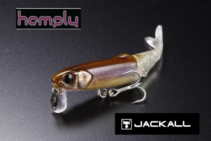 4990 Jackall Hamply 65 Fusion Schwimmend Köder Rt Oikawa Male