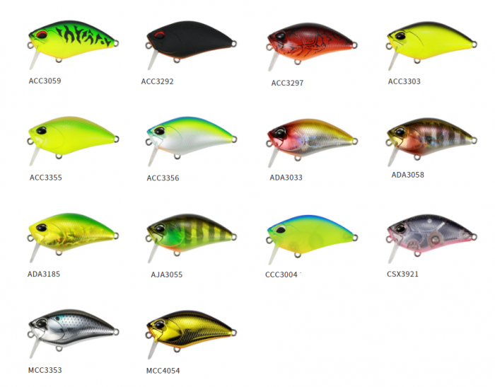 Duo Realis Crank Mid Roller 40 Floating Lure AJA3055 7106