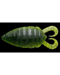 "NORIES ""5"" FLIP GILL"" #004: Watermelon Black Flk."