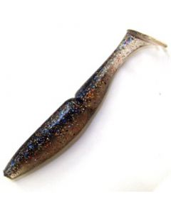 Sawamura One'up Shad Real 4in #059 Blue Gill