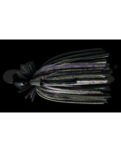 VIOLATOR JIG 1/2oz  #05 Black / Smoke Purple Flake