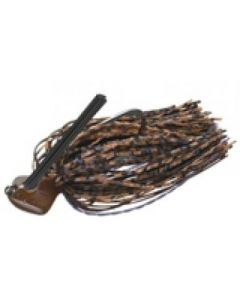 EVERGREEN CASTING JIG SILICONE RUBBER 1/4oz #108 Brown Purple Illusion