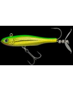 WRAPPING MINNOW 8g #139 Green Back Yellow Gold
