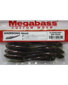 "Megabass HAZEDONG 4""- #16 AVOCADO/RED PEARL"