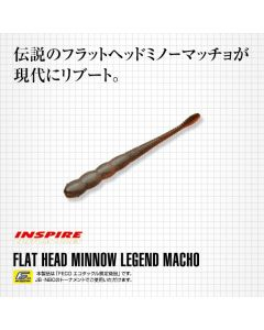 EVERGREEN FLAT HAED MINNOW LEGEND MACHO 4inch