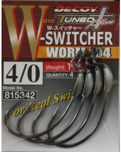 Decoy W-Switcher Worm 104 #4/0(1.2g)