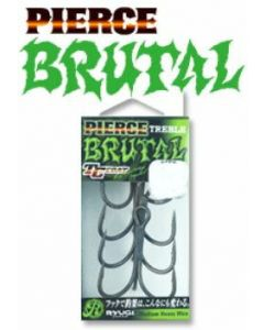 RYUGI PIERCE TREBLE BRUTAL #2/0 (HPB074)