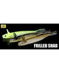 DEPS FRILLED SHAD 4.7inch