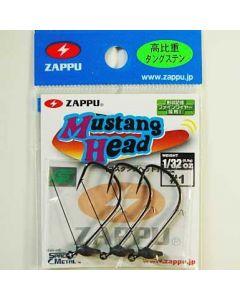 Zappu Mustang Head 3/64oz(1.3g) #1