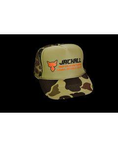 JACKALL MESH CAP TYPE-II - Green Camo