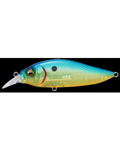 Megabass FLAPSLAP LBO - SEETHROUGH BLUE BACK CHART