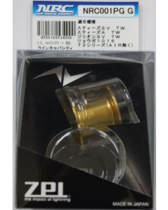 "ZPI ""NRC001PG"" For Daiwa Power game spool - gold"