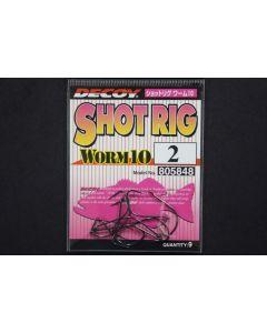Decoy Shot Rig Worm 10 #2