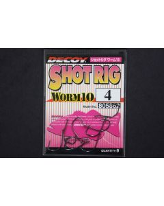 Decoy Shot Rig Worm 10 #4
