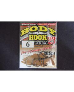 Decoy Body Hook Worm 23 #6