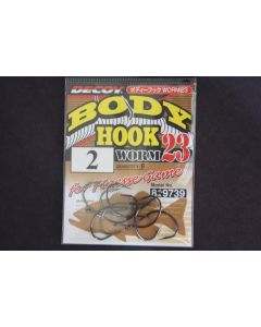 Decoy Body Hook Worm 23 #2