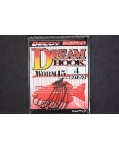 Decoy Dream Hook Worm 15 #4