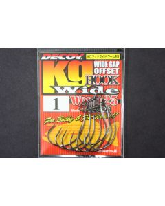 DECOY Kg Hook Wide Worm 25 #1