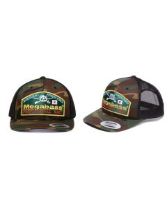 MEGABASS TRUCKER HAT - Throwback Trucker Camo