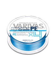 Varivas High Grade PE X4 Water Blue 150m 0.8 / 15lb