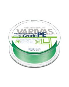 Varivas High Grade PE X4 Flash Green 150m 1.2 / 21lb