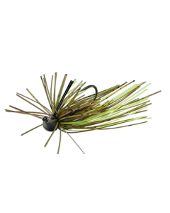 FLASH UNION DIRECTION JIG 2.4g - #006 Green Pumpkin Green flake / chart