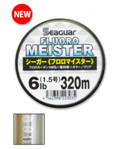 Kureha SEAGUAR FLUORO MEISTER 320m 4lb.