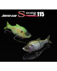 GAN CRAFT JOINTED CLAW S-SONG 115 (Slow Sinking Type)