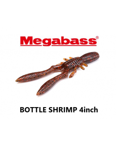 Megabass BOTTLE SHRIMP 4inch