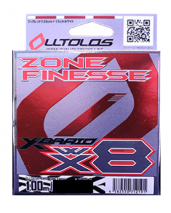XBRAID OLLTOLOS PEWX8 ZONE Finesse 100m