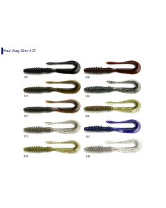Keitech Mad Wag Slim 4.5inch - 212 Natural Shad