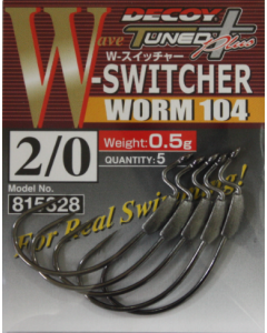 Decoy W-Switcher Worm 104 #2/0(0.5g)