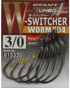 Decoy W-Switcher Worm 104 #3/0(0.9g)