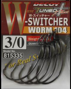 Decoy W-Switcher Worm 104 #3/0(0.9g)