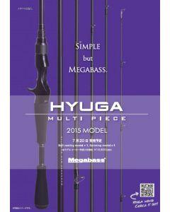 Megabass 2015 HYUGA MULTI PICE - 66-6ML(6pieces Model)(BAIT CASTING MODEL)