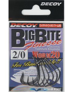 Decoy Big Bite Finesse Worm 20 #1/0
