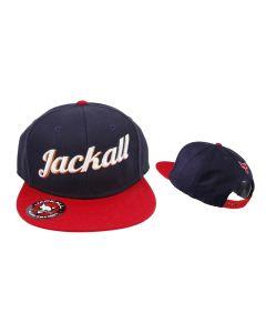 JACKALL FLAT VISOR CAP TYPE-II - Red / Navy