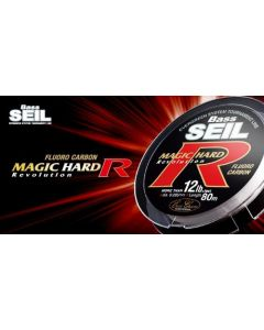 Evergreen Bass SEIL MAGIC HARD R(FLUORO CARBON) 80m 25lb.