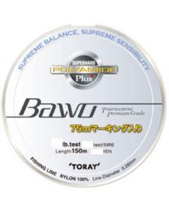 "TORAY NEW ""Bawo"" SUPER HARD POLYAMIDE PLUS 4lb (NYLON)"