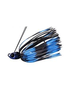 JACKALL B crawl swimmer 1/4oz - Black / Blue Stripe