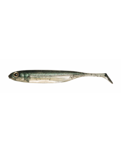 Fish Arrow Flash-J Shad 5inch- #03 Neon Green/Silver