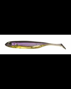 Fish Arrow Flash-J Shad 4inch - #05 Purple Weenie/Silver