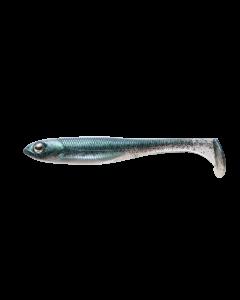 "Fish Arrow Flash-J Shad 4.5 "" #03 Neon Green/Silver"