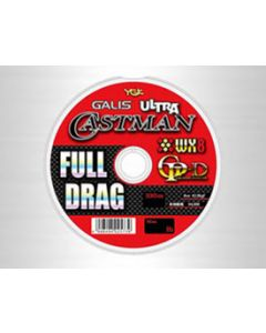 YGK GALIS ULTRA CASTMAN FULL DRAG WX8GP-D 6(90LB)100m x 12