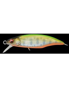 Megabass GREAT HUNTING 45 Flat Side - LZ LIME BACK OB (Floating)