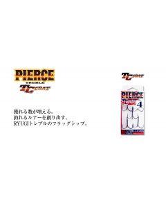 RYUGI PIERCE TREBLE TC COAT #8 (HPT004)