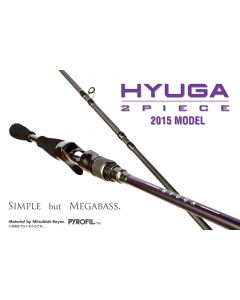 Megabass 2015 HYUGA 2 PIECE MODEL - 611-2MH (BAIT CASTING MODEL)
