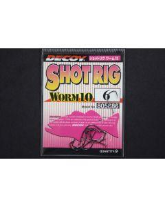 Decoy Shot Rig Worm 10 #6
