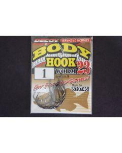 Decoy Body Hook Worm 23 #1