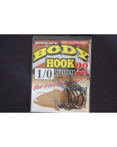 Decoy Body Hook Worm 23 #1/0